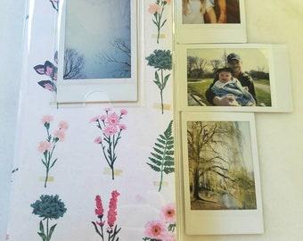 Spring Floral Instax Mini Photo Album