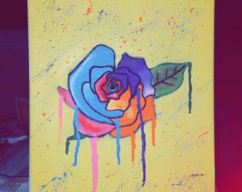 Rose love 12x16