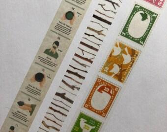 SAMPLE MT Tea Ceremony, Branch, or Postage Stamp Washi Tape