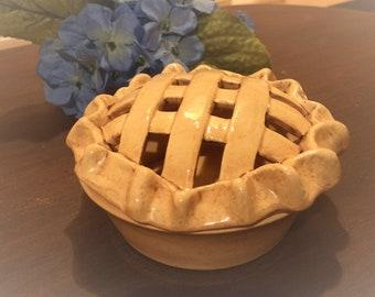 POTPOURRI HOLDER, Tea Light Holder. Scent Kitchen Decor, Mini Pie Scent Holder