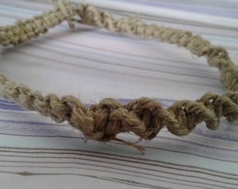 nudist hemp bracelet