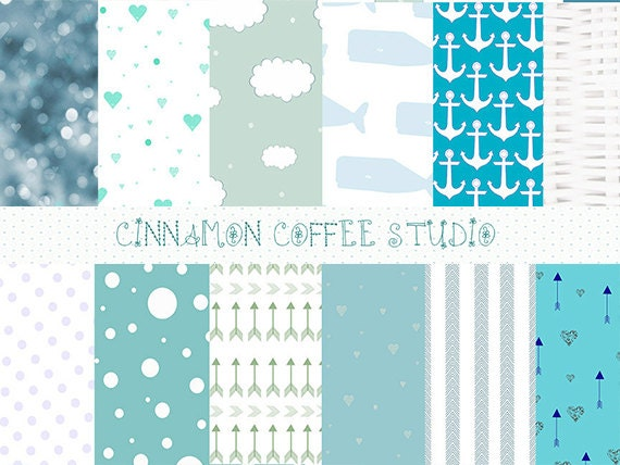 Baby Shower Backgrounds, Itu0027s A Boy Digital Papers, Cute Baby Shower  Texture, Boy Baby Background From CinnamonCoffeeStudio On Etsy Studio