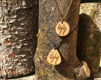 Your Elvish Name Pendant - Necklace