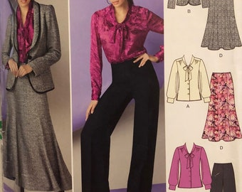 Simplicity 1784 Size U5 16-24 Misses Blouse, Jacket, Pants, Skirt