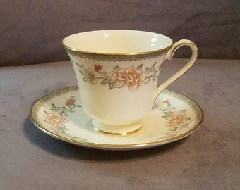 Minton Jasmine Cup and Saucer