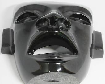 Mahogany obsidian teotihuacan mask