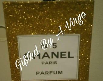 Faux Chanel Perfume Bottle