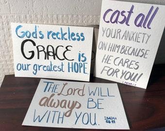 Scripture cards encouragement