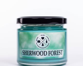 Soy candle SHERWOOD FOREST