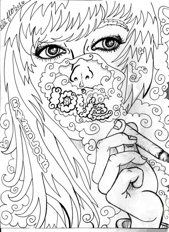 Adultos para colorear libro Tumblr fumetas parte I