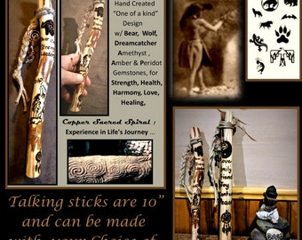 Talking stick,Communication,group talking, co worker gift, office gift, hiking sticks