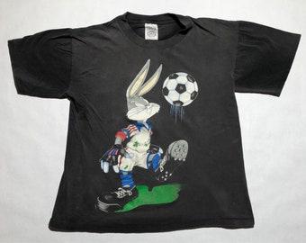 Vintage Bugs Bunny Team USA Soccer T-Shirt