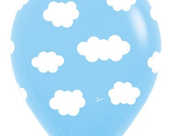 Cloud Balloon Biodegradable 11 inch pack of 10