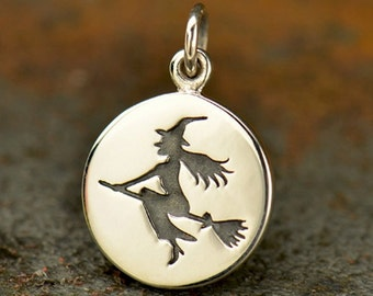 Witch pendant etsy quick view aloadofball Image collections