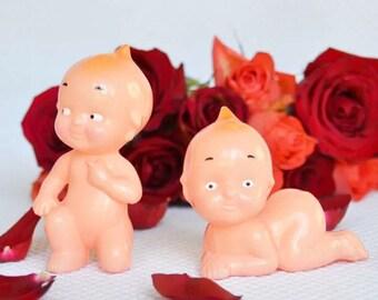 Kewpie doll cake toppers