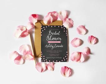 Bridal Shower Invitation (Printable)