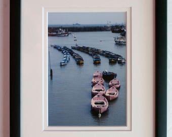 Framed 5x7 print: Bridlington Harbor, East Yorkshire, England