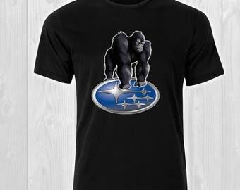 Gorilla Subaru / CAR 150 -  Cars Man T-shirt