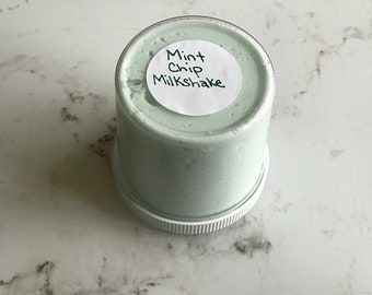 Mint Chip Milkshake 6oz