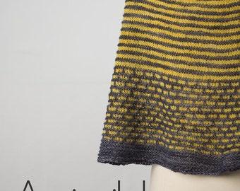 Assimilate 2 Color Yarn Kit - Stunning Superwash Fingering Weight - 100% Superwash Merino