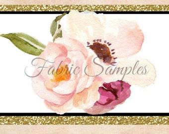 Fabric Swatch Card