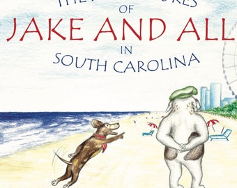 The Adventures of Jake and Alli in South Carolina children's book