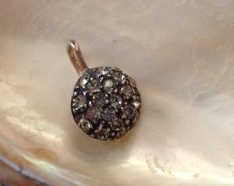 Crystal Pendant, Copper Pendant