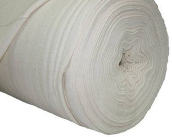 Fabric cotton fleece lining 2 m 30 meter