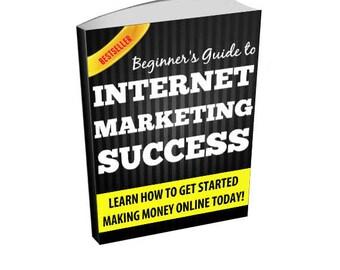 Beginner's Guide To Internet Marketing Success - Make Money Online Ebook
