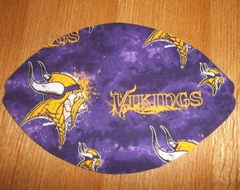 Mouse Pad Minnesota Vikings MousePads Mouse Mat Office Accessories Office Decor Desk Accessories Handmade Football  Rectangle Shape Gift