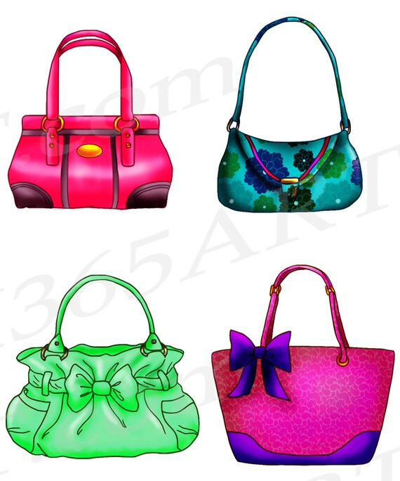 50 off handbag clipart handbag clip art purse clipart rh etsy com purse clipart black and white purse clipart free