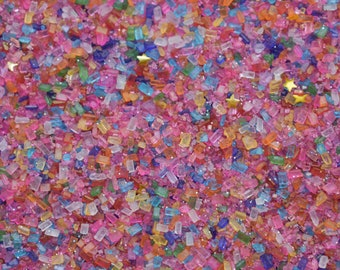 Edible Sprinkles - Birthday Magic Sugar - 4 oz - Vegan