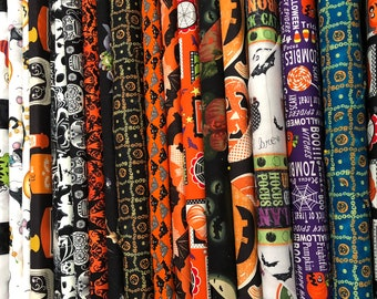 Halloween Mystery Fabric