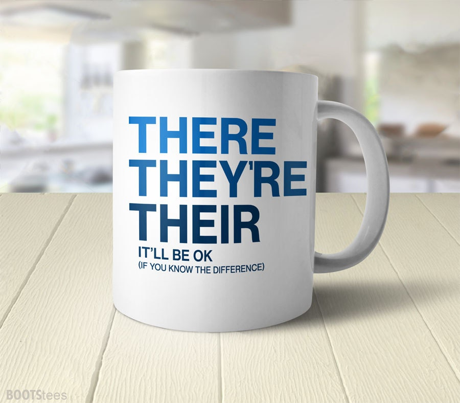 English teacher gift for writer grammar mug funny cup nerdy zoom negle Choice Image