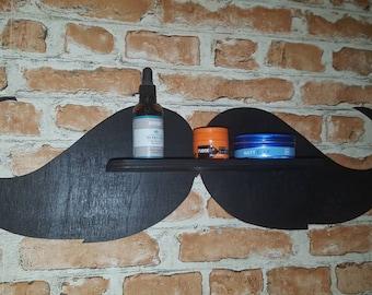 Moustache shelf