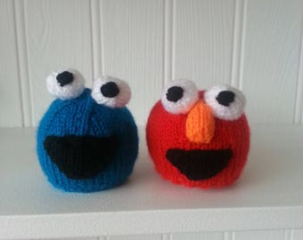 Chocolate Orange Cover (Cookie Monster/Elmo)