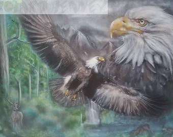 Mountain eagles