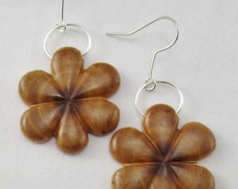Welsh wild Plum Tree Earrings