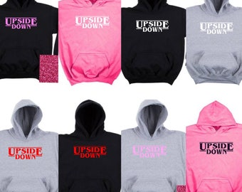Upside Down Youth Hoodie    Available in several color variations!!