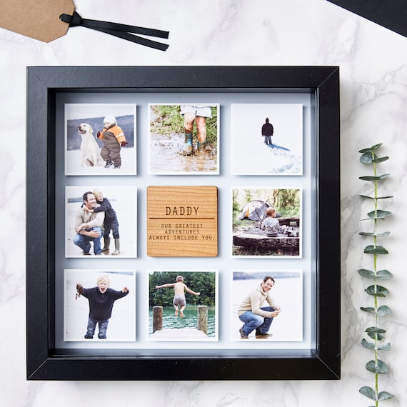 Personalised Framed Father's Day Photo PrintPersonalised Framed Father's Day Photo Print
