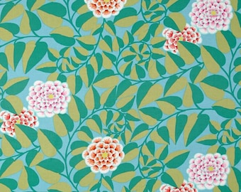 VINE in EMERALD  pwgp151 - Kaffe Fassett Collective for Free Spirit Fabrics - By the Yard