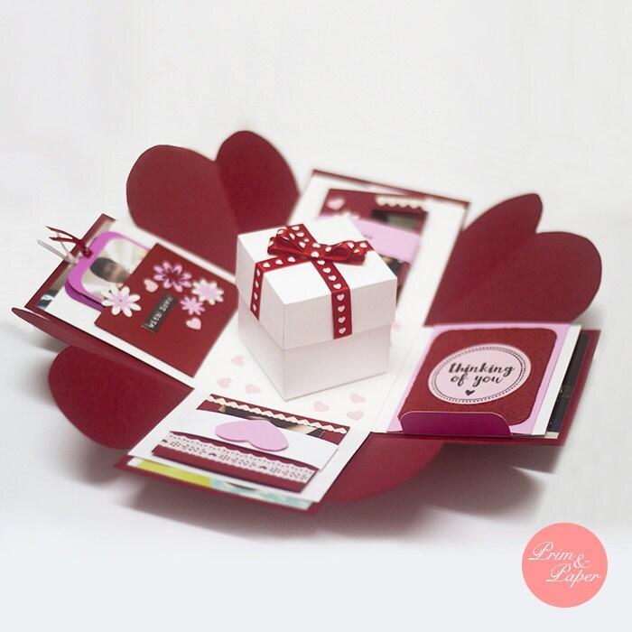 Love Explosion Box // Love Exploding Box // Surprise exploding