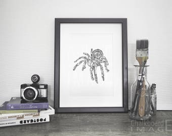Art Print - Mechanider, 2017