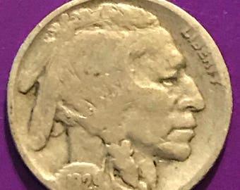 1929 P Buffalo Nickel  • #1108
