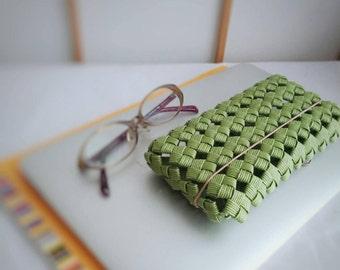 pencil case, green, flat, Japan, minimalist, stylish, cool, eco friendly,  gift, birthday, christmas