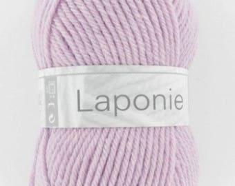 LAPLAND of horse white # 256 pink yarn