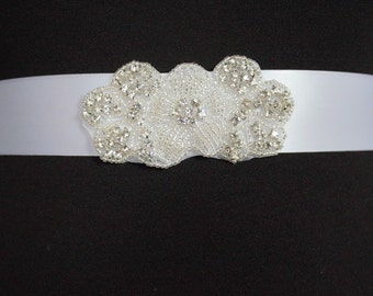 SALE BRIDAL SASH, Bridal sash, Bridal belt, crystal belt, Rhinestone belt, Bridal sash, Wedding sash/belt, Bridesmaid belt, Dress Sash/Belt
