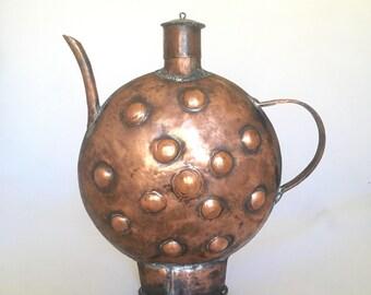 Vintage Copper Decorative Pitcher