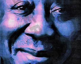 Muddy Waters Art Print - Oil Painting Poster  LFF0131