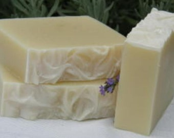 French Lavender Herbal All Natural Handmade Soap with essential oil